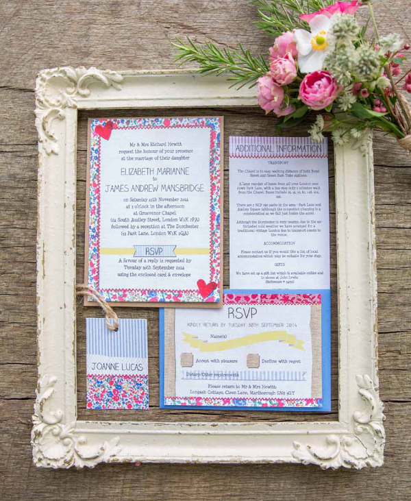 Hip Hip Hooray Stationery & The Little Wedding Helper for Love M