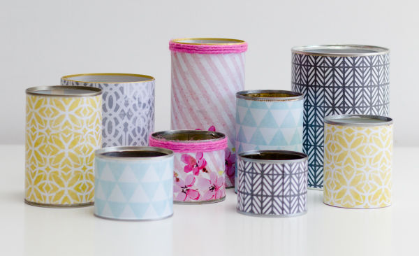 Printable DIY Tins Cans Wedding Centrepieces Vintage Geometric Pastel Hip Hip Hooray_Claire Graham Photography-1