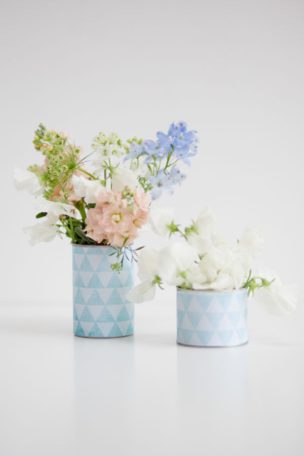 Printable DIY Tins Cans Wedding Centrepieces Vintage Geometric Pastel Hip Hip Hooray_Claire Graham Photography-5