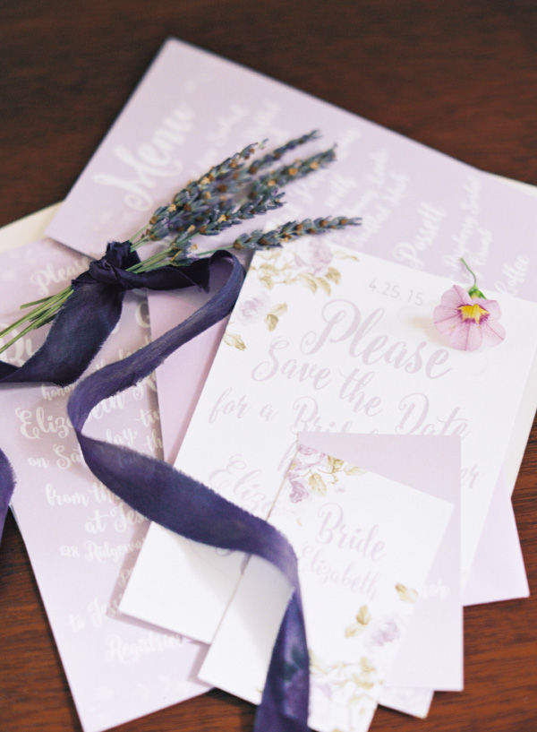 lavender lilac bridal shower wedding invitations save the dates and stationery photo shoot2