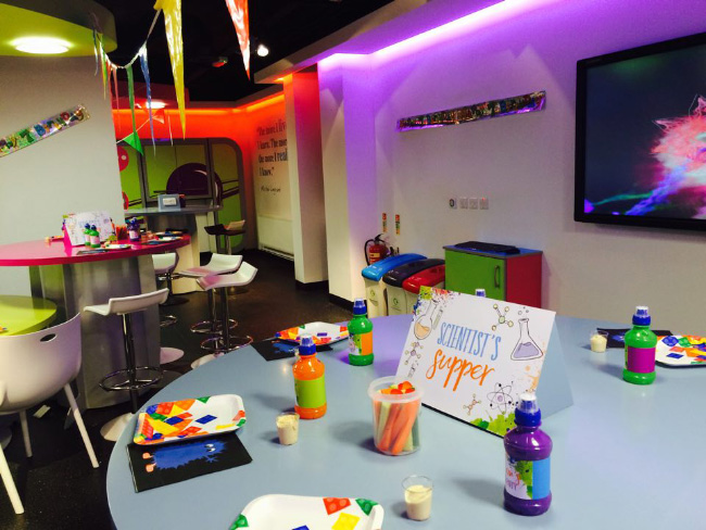 Science Mad Scientists Laboratory Kids Childrens Birthday Party Invitations Invites Printable Printed Hip Hip Hooray