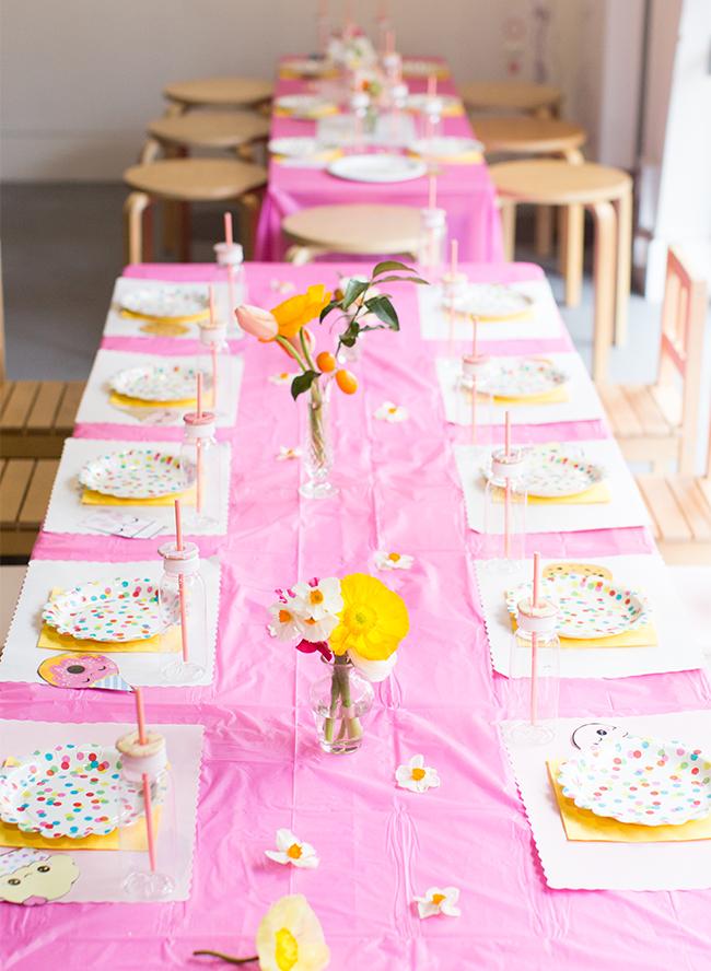 Cute kawaii cupcake donut strawberry cartoon shopkins kids birthday party Invitations stationery 3