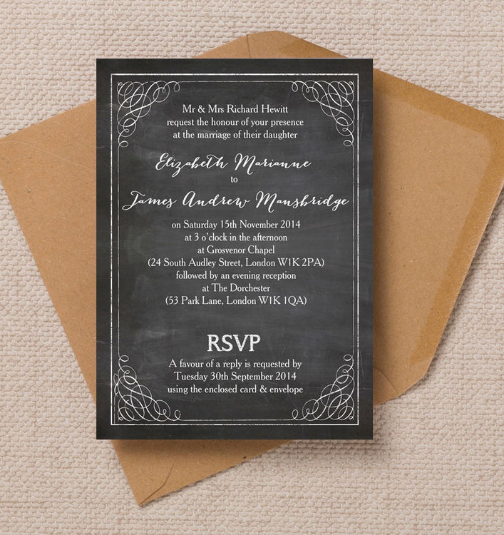 Rustic-vintage-chalkboard-black-board-calligraphy-wedding-invitations-invites-printable-printed-by-Hip-hip-hooray-stationery