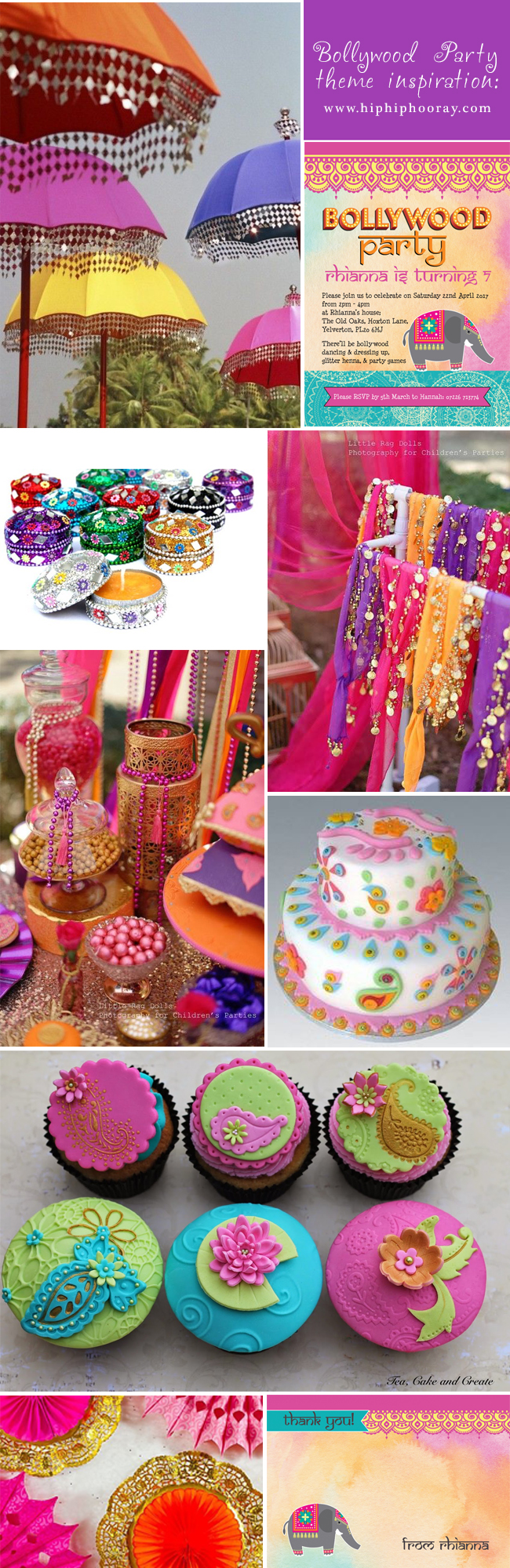 Bollywood Children S Party Themes Inspiration