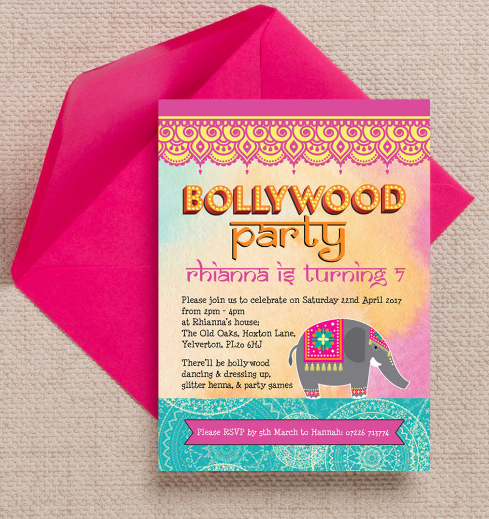 Bollywood Children\'s Party Themes Inspiration