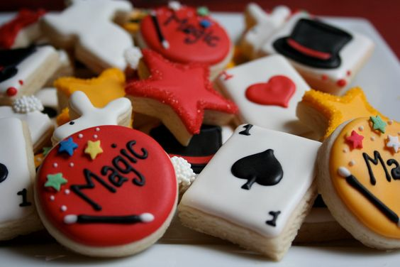 4. Magic Show Cookies