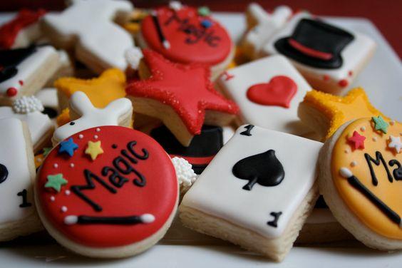 4. Magic Show Cookies