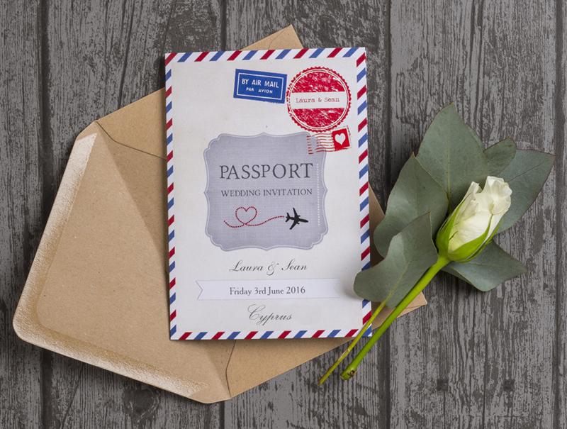 Cyprus Themed Wedding Stationery & Invitations