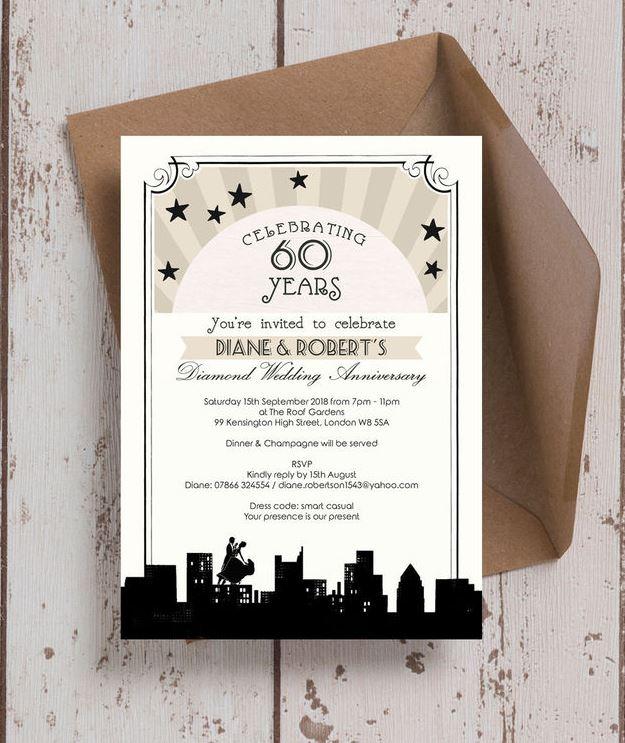 10 of the best wedding anniversary invitations painted birds wedding anniversary invitation solutioingenieria Choice Image