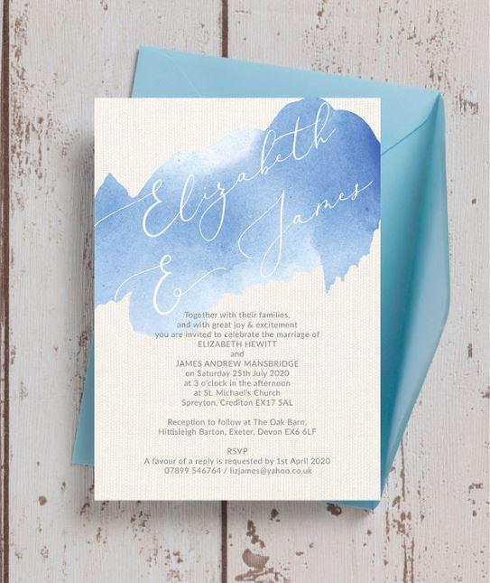 8 Fantastic Modern Wedding Invitations