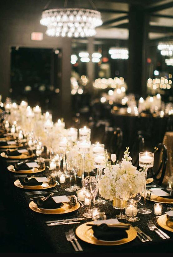 Black And Gold Wedding.Black Gold Wedding Party Ideas You Ll Love