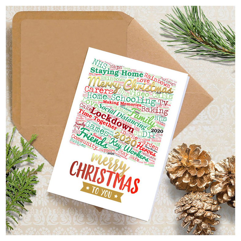 Christmas Cards For 2020 Socially Distanced Scratch Off Designs