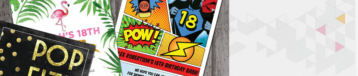 Personalised 18th Birthday Party Invitations – Personalised 18th Birthday Invitations