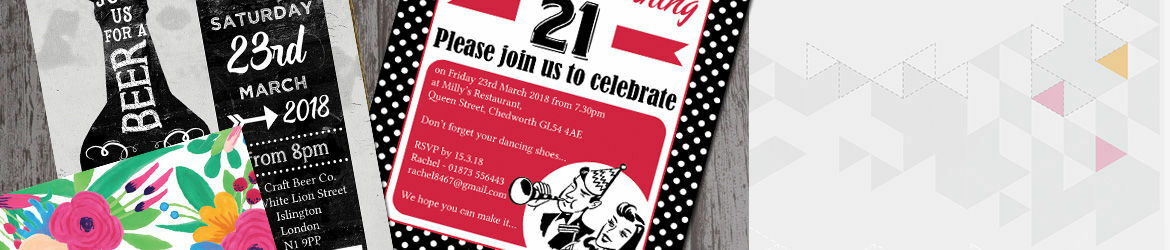 Personalised 21st Birthday Party Invitations – Personalised 21st Birthday Invitations