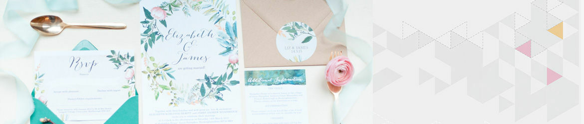 Flora Wreath Wedding Stationery