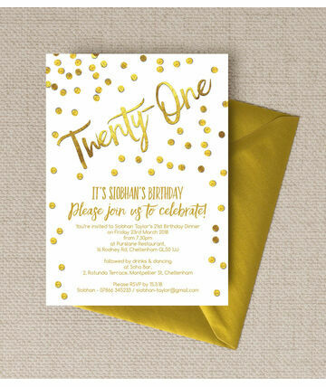 personalised st birthday party invitations, Birthday invitations