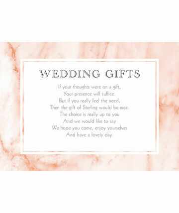 Blush Marble Gift Wish Card GBP200 From GBP040 With A Stylish Texture Design These Wedding Gif