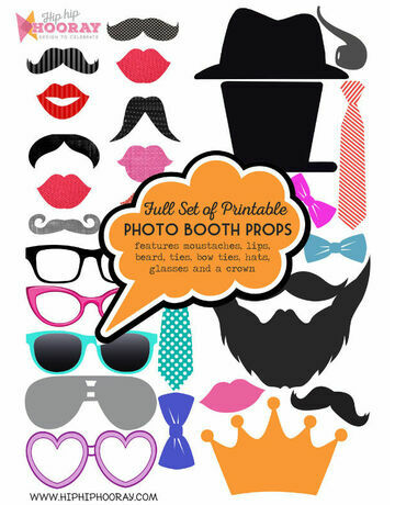 Printable diy photo booth props signs photo booth props browse our range of photo booth props perfect for adding an extra level of fun to any occasion simply download ou pronofoot35fo Images