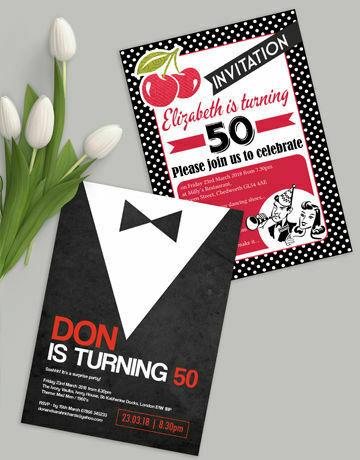 milestone birthday invitations by age, Wedding invitations