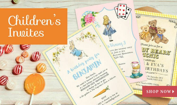 Children's Invitations
