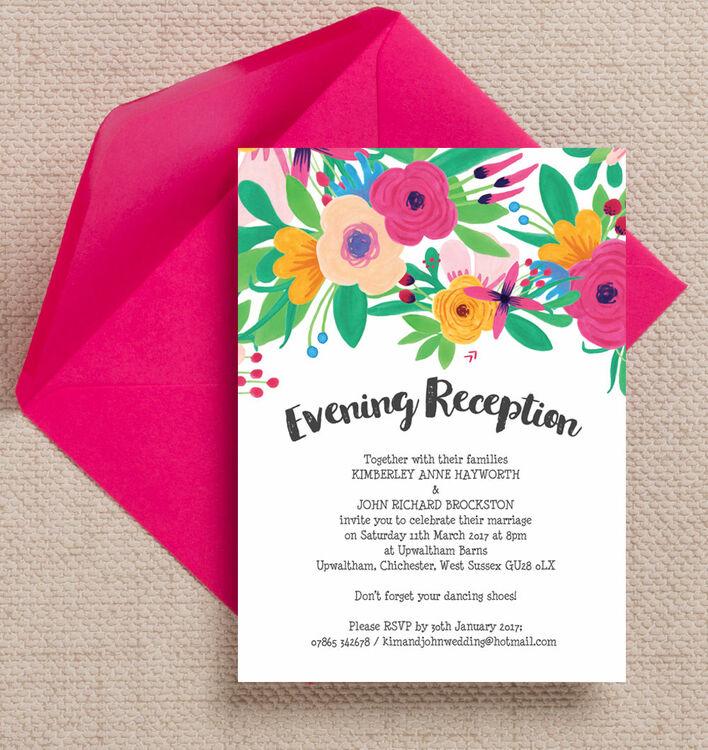 When Should You Send Wedding Invites
