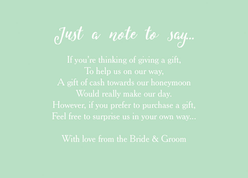 Wedding Gift List Wording Poems : Poems For Wedding Invites Gift List Wedding Invitation Ideas