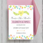 Candy Confetti Save the Date additional 1