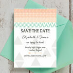 Pastel Bohemian Save the Date additional 3