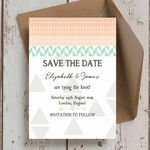 Pastel Bohemian Save the Date additional 1