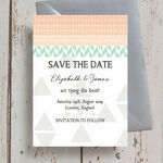 Pastel Bohemian Save the Date additional 2