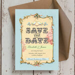 Pastel Pretty Save the Date additional 2