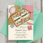 Vintage Trinkets Save the Date additional 4