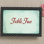 Rockabilly Retro Table Name additional 3