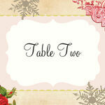 Winter Wonderland Table Name additional 1