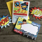 Personalised Superhero Thank You Cards additional 3