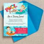 Swimming Pool Party Invitation additional 1