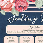Rustic Floral Wedding Seating Plan additional 4