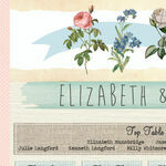 Rustic Botanical Wedding Seating Plan additional 3