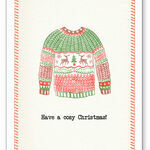 Christmas Jumper Personalised Christmas Cards additional 2