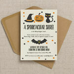 Spooktacular Personalised Halloween Party Invitation additional 2