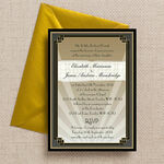 Art Deco Wedding Invitation additional 1