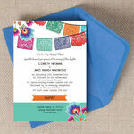 Mexican Fiesta Wedding Invitation additional 1