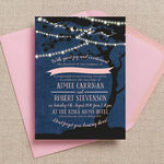 Enchanted Fairy Lights Evening Reception Invitation additional 1
