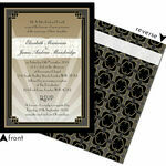 Art Deco Wedding Invitation additional 3