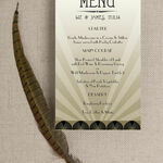 Art Deco Menu additional 2