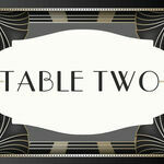 Art Deco Table Name additional 1