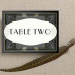 Art Deco Table Name additional 2