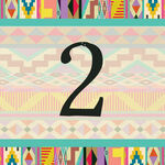 Aztec Ikat Table Number additional 1