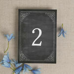 Chalkboard Table Number additional 2