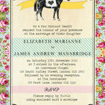 Day at the Races Wedding Invitation additional 2